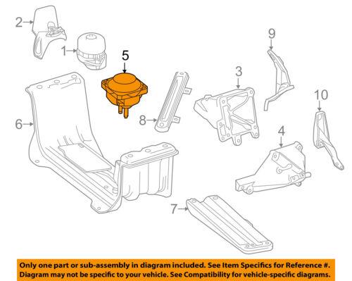 Mercedes MERCEDES-BENZ OEM 13-15 ML63 AMG-Transmission Trans Mount 1662401318