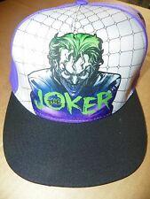 NEW DC Comics Originals BATMAN / THE JOKER Adjustable Back Men's Hat / Cap
