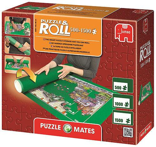 bis 1500 Teile Puzzleteppich von Jumbo Puzzlematte Puzzle and Roll 1500