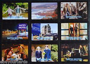 Bates-Motel-Season-1-Postcards-Complete-Chase-Set-Inserts-BP1-BP9-Trading-Cards