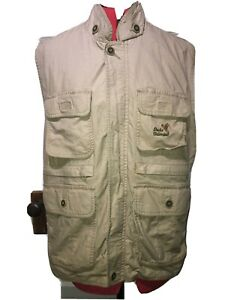 Ducks-Unlimited-Men-039-s-Size-XL-Hunting-Vest-Full-Zip-4-Pockets-100-Cotton