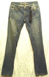 Vintage-DISTRESSED-Low-Rise-BootCut-YOM-YOM-NY-100-Cotton-Jeans-3-26