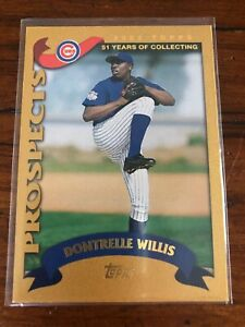 Dontrelle-Willis-21-Card-RC-Lot-2002-Topps-Traded-Gold-Bowman-Draft-Nice