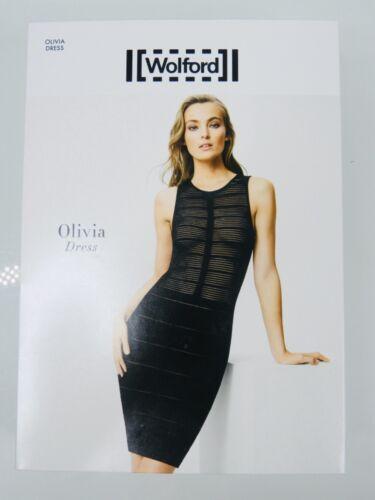 ✨Wolford Olivia Dress OP 350$ ✨ L Black Schwarz ✨ Bodycon Business Dress Sheer
