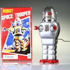 TR2007 espace Trooper Robot homme Vintage Repro NEW vintage COLLECTABLE de liqui