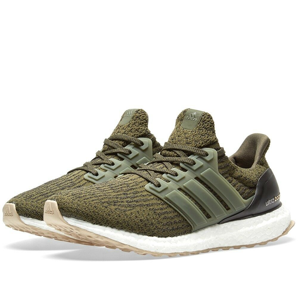 Adidas Ultra boost 3.0 Night Cargo Olive S80637 Men Size 11 NEW 100% Authentic