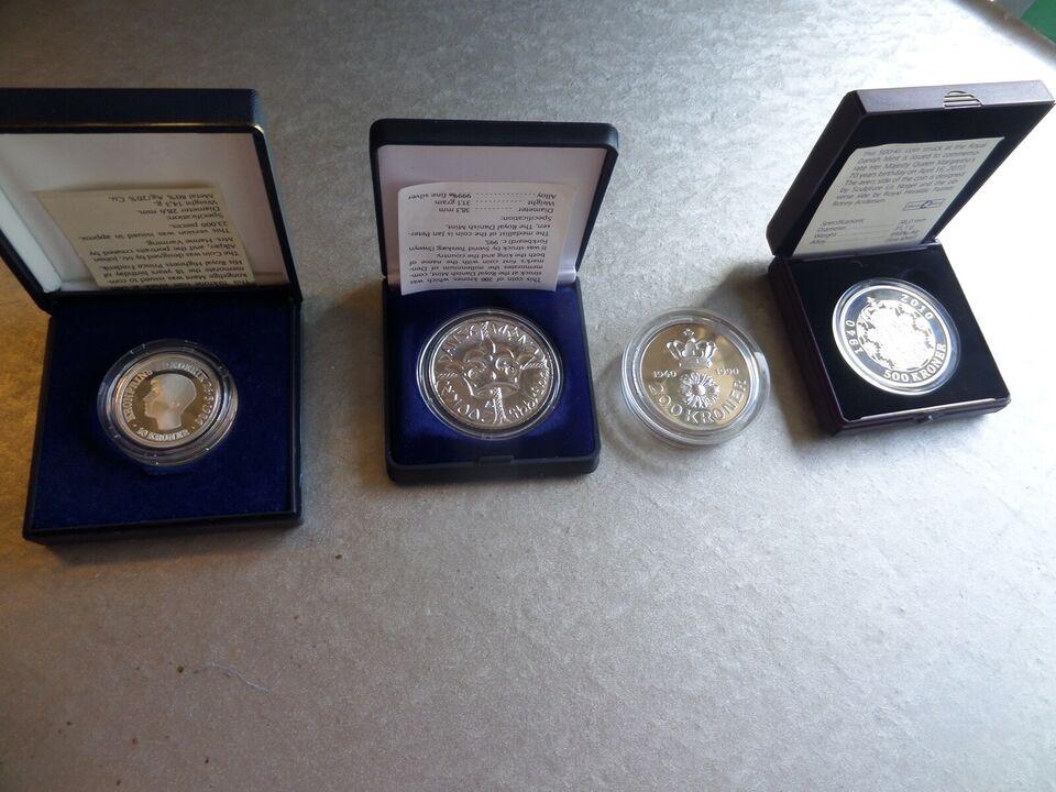 Danmark, guld- og sølvbarre