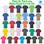 FOTL-Mens-Womens-T-Shirt-Short-Sleeve-Unisex-Cotton-Plain-Ladies-Casual-Tee thumbnail 1
