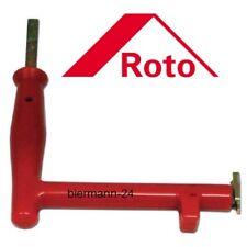 ToniTec/® Ziehgriff ROT Einstellwerkzeug Montageschl/üssel Stiftzieher 45mm f/ür Roto Axerstift