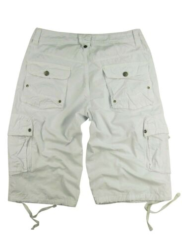 30-54 S//#27S MENS MILITARY-STYLE 100/% COTTON SOLID COLOR CARGO SHORTS SIZE