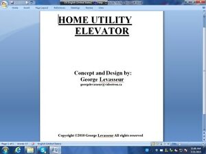 Home-utility-elevator-Plans