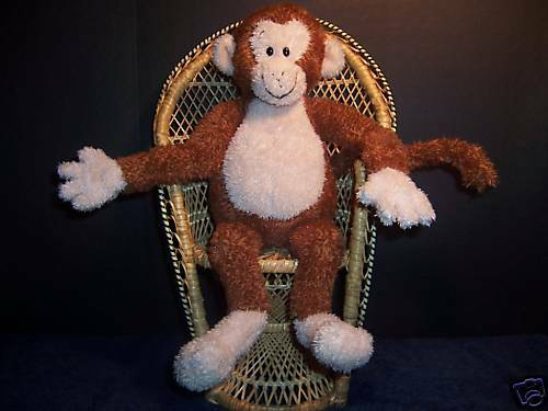Gund Gund Kids Plush Yoga Monkey 20016 with Sound Stuffed 14 Doll