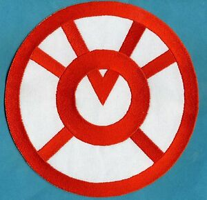 Large-8-034-Orange-Lantern-Corps-Classic-Style-Embroidered-Iron-on-Patch
