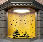 CHRISTMAS  WINDOW STICKERS xmas wall sticker XMAS WALL DECAL STICKER S19