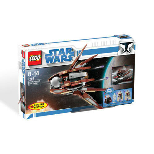 *NEW* Lego 7752 Star Wars Count Dooku Solar Sailer Ship MISB Set New in Box x 1