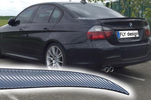 Carbon Film Heckspoiler Heckflügel Convient Pour BMW e90 berline lip Becquet lè
