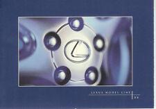 1996 LEXUS  FULL LINE  BROCHURE