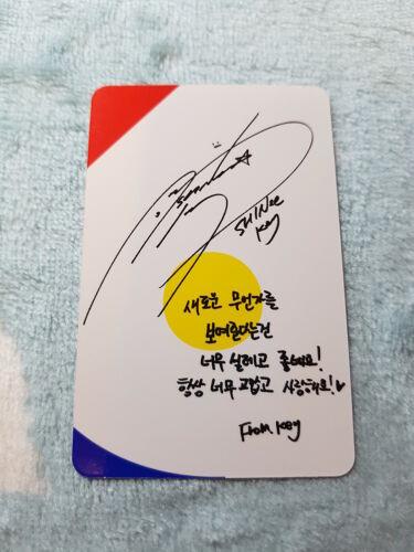 """12 Shinee 6th álbum /'la historia de luz /""""epílogo Tipo de clave-una foto tarjeta *"""