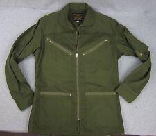 Vintage Avirex Type K-4 Summer Flying Jacket Olive Green Flight Coat Sm USA