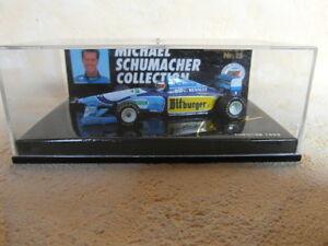 Benetton Renault B 194/b195 Michael Schumacher échelle 1:64 Ms-collection Nº 16-afficher Le Titre D'origine Krsktfxj-07162055-407880026