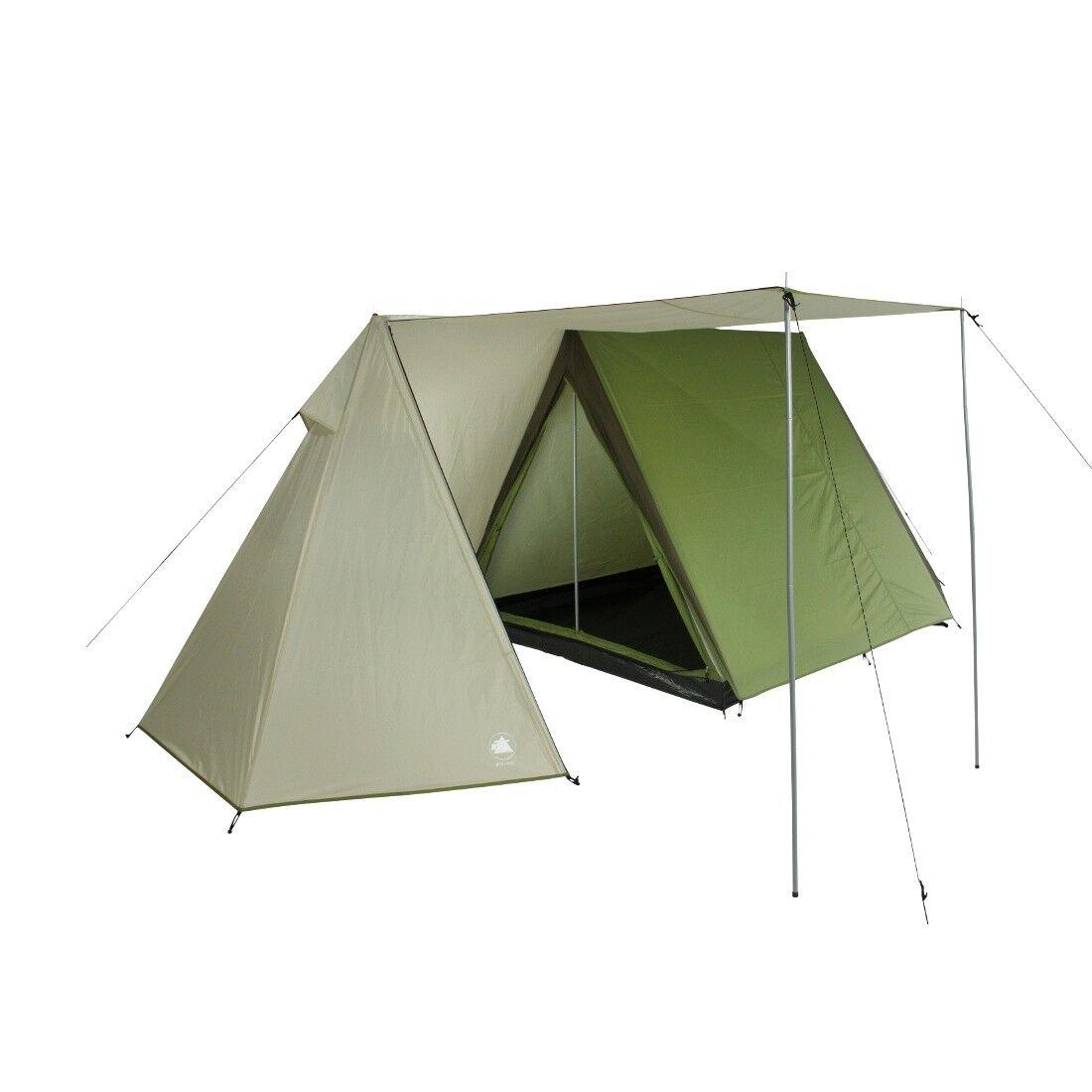 10T Mungaroo 3 - Tienda Trekking First de doble techo para 3 personas con vestíb