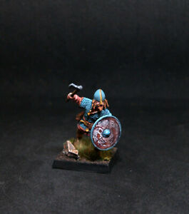 BMA-PRO-PAINTED-VIKING-WARRIOR-Brynjar-28mm-SAGA-Dark-Ages