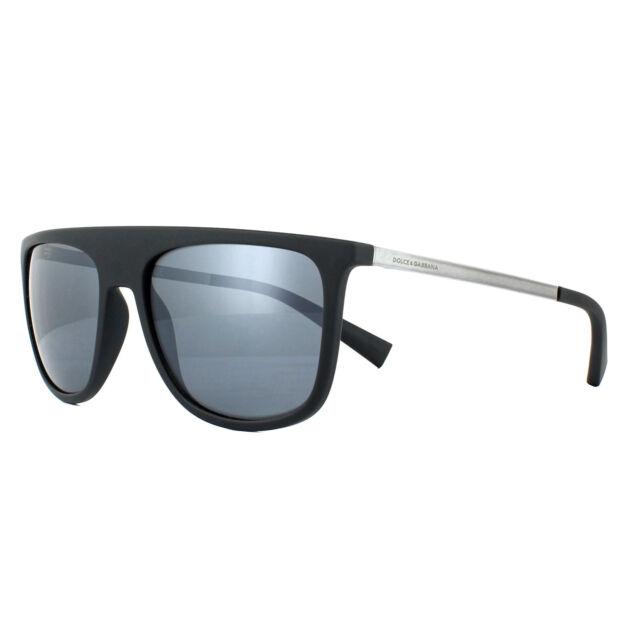 884d238950a Dolce   Gabbana DG 6107 Sunglasses 3069y6 Matte Black Men 55mm for ...