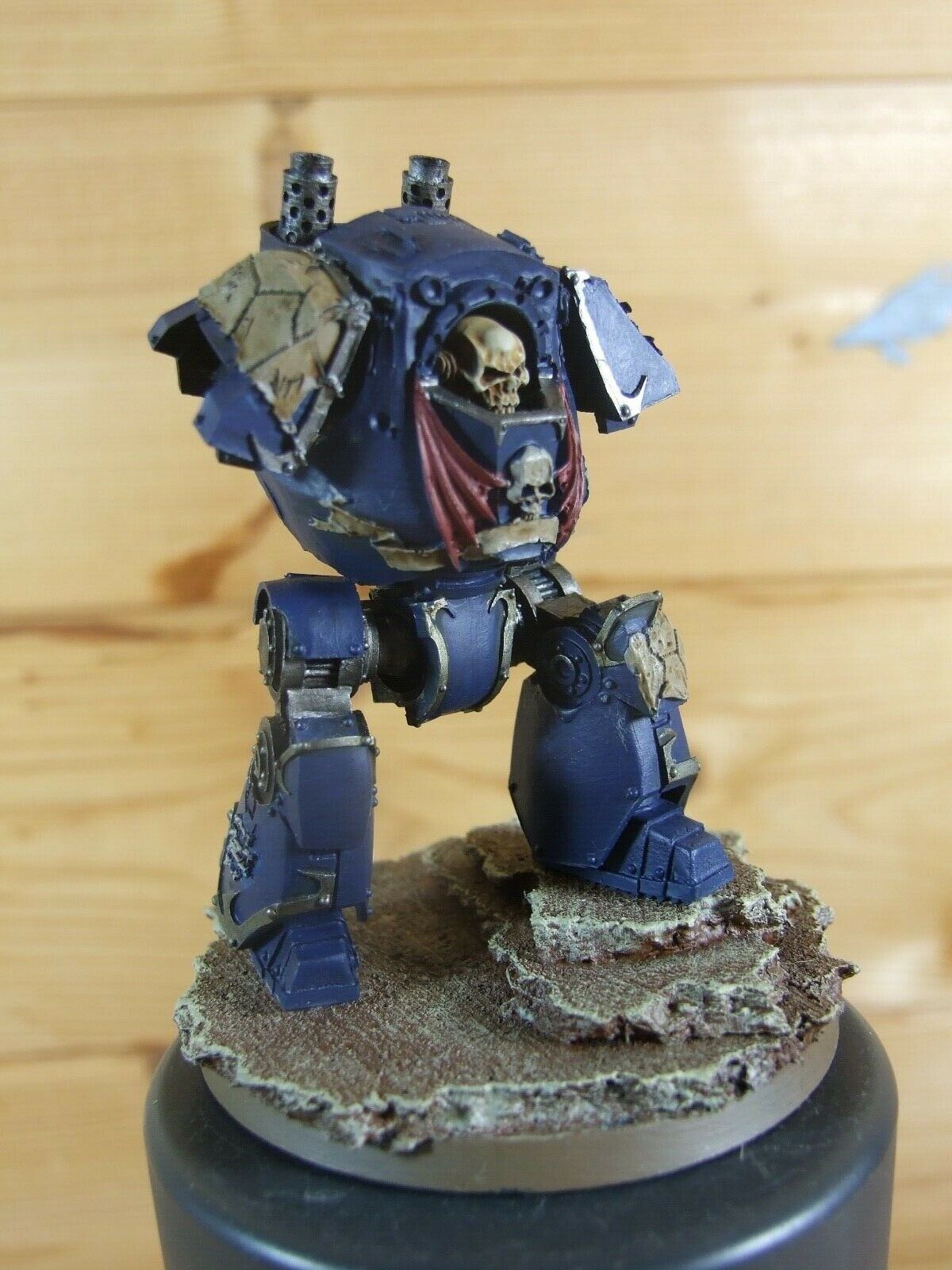Forgeworld  WARHAMMER Night Lords contemptor Dreadnought bien peint (L)  acheter des rabais