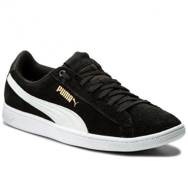 Puma original Vikky schwarz DAMEN SCHUHE Turnschuhe Sneaker 362624 SOFT FORM