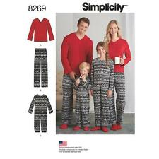 SIMPLICITY SEWING PATTERN CHILD'S/GIRL'S & BOY'S JUMPSUIT PANTS SIZE XS-XL 8269