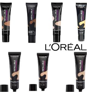 COPERTURA totale L'Oréal infallibile Foundation, scegli la tua ombra, 35 G
