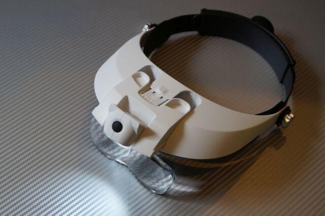 Lupenbrille Kopflupe,Stirnlupe, Brillenlupe 1,5X 2,0X 2,5X ...Vergrößerungsglas