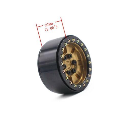 Details about  /4PCS 1.9/'/' Aluminum Beadlock Wheel Rims for 1//10 Rc Crawler Axial Scx10 II D9...