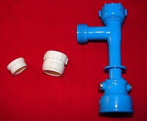 Blue-Magic-Waterbed-Drain-Venturi-Pump-amp-Faucet-Adaptor
