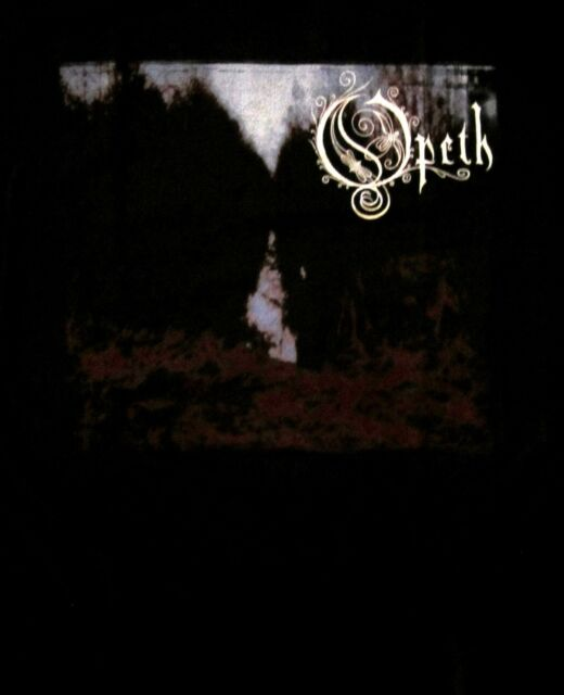 OPETH cd cvr MY ARMS, YOUR HEARSE Official Black SHIRT XL new