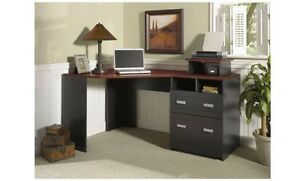 Image Is Loading Bush Furniture Wheaton Reversible Corner Desk