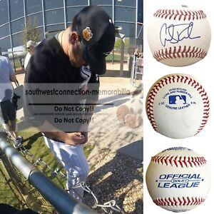 Carlos Rodon Chicago White Sox Signed Autograph Baseball Proof Photo COA