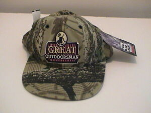 65a0c9a019bc4 Image is loading GREAT-OUTDOORSMAN-REALTREE-CAMOUFLAGE-HUNTING-HAT-ONE-SIZE-