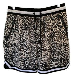 Saint-Morta-Black-Statement-Skin-Basketball-Hip-Hop-Shorts-Large-Zip-Pockets