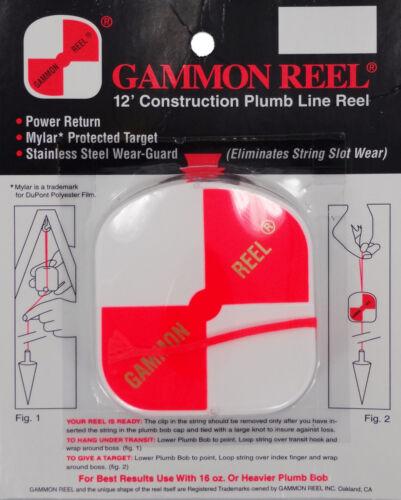 Gammon Carrete de 12 pies #012 Conjunto de 4