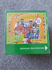 Panini Futebol Liga Nos 2018 2019 18/19 Sealed Box Stickers Joao Felix Rookie ?