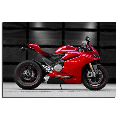 "2015 Ducati Superbike 1299 Panigale Bike Car Art Silk Wall Poster 24x36/"""