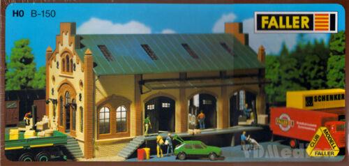 Bienes halle h0 1:87 Faller club modelo b-150 modelo ferroviario Ferrocarril campamento Kit
