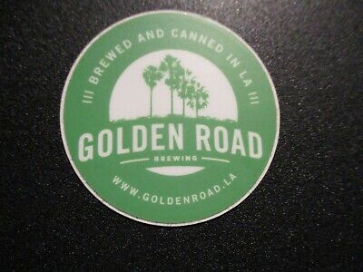 GOLDEN ROAD BREWING Los Angeles California Gren STICKER decal craft beer brewery