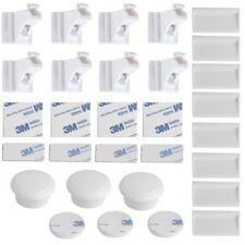 IKEA UNDVIKA Multisperren in weiß; 2 Stück Kindersicherung Verschlusssicherung