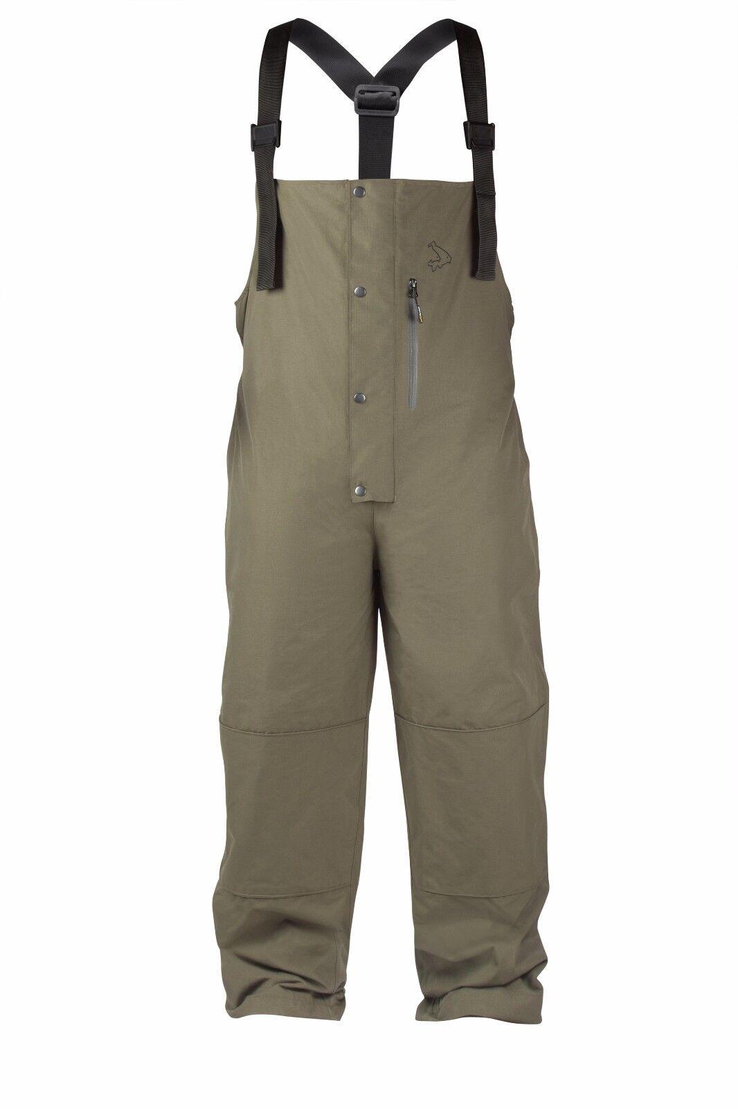 Avid Carp Blizzard Ripstop Waterproof Fishing Bib & Brace Trousers All Sizes