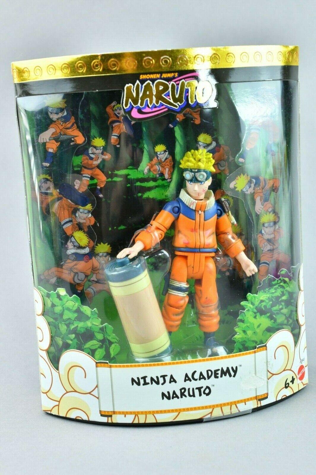 Naruto Ninja Academy Mattel MISB SDCC Comic Con Battle Damaged