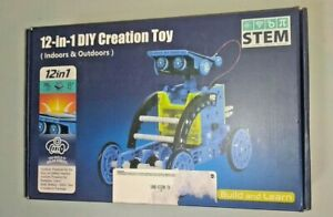 Sillbird STEM Solar Robot Creation Kit 12 In 1 Building ...