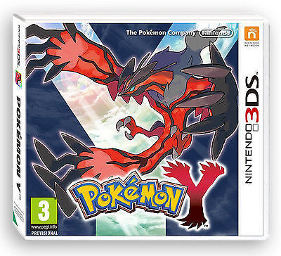 Pokemon Y (Nintendo 3DS, 2013)  CART ONLY**