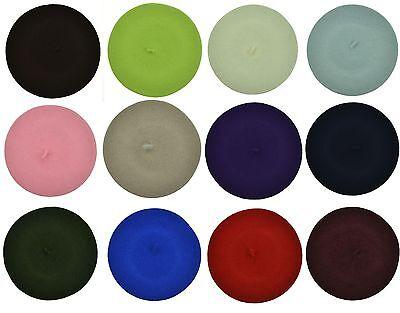 USA Wool Crochet Tam Ceret Beanie Hat Cap Beanie for Women Fashion 15 Colors
